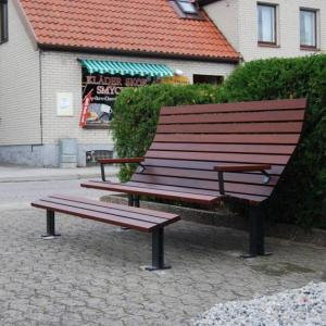 China Composite outdoor bench outdoor concrete bench outdoor public bench seat on sale