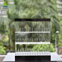 Eco - Friendly Acrylic Shop Display Clear Acrylic Electronic Cigarette Display Rack