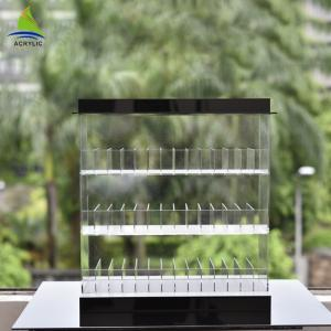China Eco - Friendly Acrylic Shop Display Clear Acrylic Electronic Cigarette Display Rack on sale
