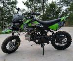 125cc Dirt Bike Motorcycle 4 Speed Dirt Bike With CDI Electric / Kick Start