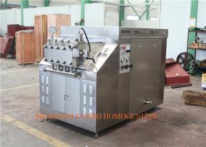 China CIP homogenizer Ice Cream Homogenizing Machine   hydraulic mode 75 KW on sale