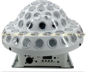 China DMX512 Crystal Magic Ball Stage Light Dj Light Bar 6x3W 12CH 220x220mm on sale