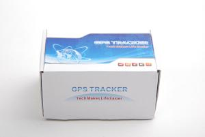 China Anti-theft Real Time GPS Car Tracker , Motorbike GPS Transmitter With 3 Additional Cable on sale