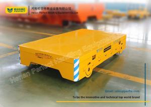 China 30 ton trackless flat transport cart for steel billets transport on sale