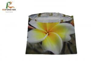 China Polyester Digital Custom Printed Clothing Flower Cushion Covers Mixed Color on sale