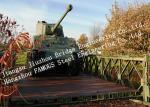 Prefabricated Easy Assembling Modular Military Bailey Bridge Government Application