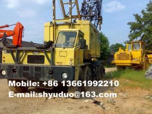 China Used 90ton P&H Latice boom Truck Crane-Used P&H Harbour Crane 790TC on sale