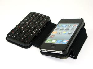 China Slim design with light weight iPhone 4 keyboard case , samsung galaxy tab leather case on sale