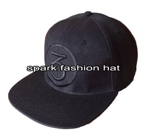 Quality 100% cotton embroidered 6 panel flat visor snapback baseball hat for sale