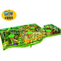 Soft Play Kids Games Naughty Castle, Forest style Indoor Playground Toy Equipment