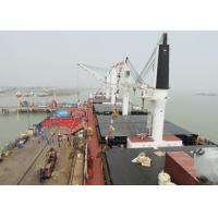 31m Offshore Marine Cranes Electric Hydraulic Telescopic Boom With 360 Degree Rotation Angle