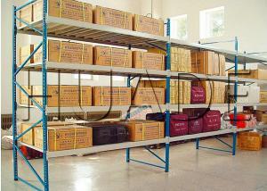 China Conventional 55 Profile Longspan Shelving / Medium Duty Shelving 200-800 Kg Load Capacity on sale