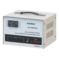 Current Type Single Phase Stabilizer , AVR Automatic Voltage Stabilizer 220V AC 2000VA For Home Use