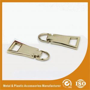 China OEM Metal Handbag Accessories Zipper Puller For Handbag / Purse on sale