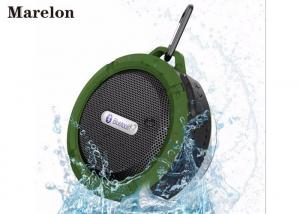 China Outdoor Mini Active Waterproof Bluetooth Speaker TF Card Slot For Mp3 Files on sale