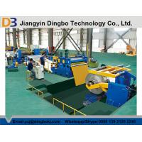 China Automatic Metal Sheet DBSL-6x1300 Coil Metal Slitting Line , Thickness 1-6mm on sale
