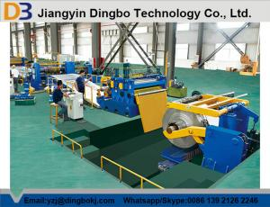 China Automatic Metal Sheet ?DBSL-6x1300 Coil Metal Slitting Line , Thickness 1-6mm on sale
