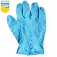 China Resistant Static Nitrile Gloves Chemical Resistance For Family Hygienic Protection on sale