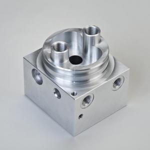 China 0.01mm Tolerance CNC Precision Machining Aluminum / Steel / Brass Parts on sale