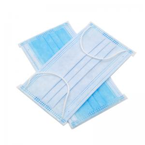 China Three Layers Non Woven Face Mask  , Earloop Face Mask ?Good Skin Tolerance on sale