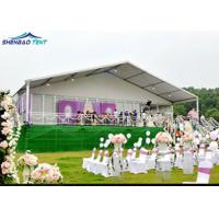 Outdoor Wedding Party Aluminum Frame Marquee 20X20 White Party For Event