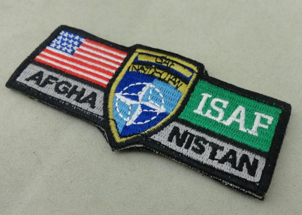 ISAF Custom Embroidery Patches / Woven America Military