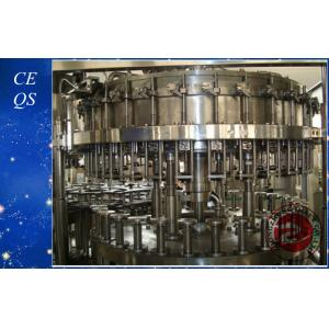 China 6000BPH Liquid Washing Filling Capping Beer Filling Machine on sale