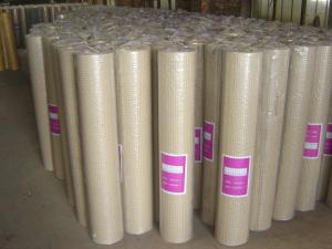 China 1 2 Inch Welded Wire Mesh Fence / Galvanised Welded Mesh Rolls For Farm on sale