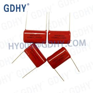 China 225nF CBB Metallized Polypropylene Film Capacitor 630VDC Hot Sale on sale