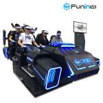 3.8KW 3D 9D Virtual Reality Simulator With Motion Chair / Amusement Park Equipment