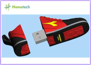 China Rectangle Customized USB Flash Drive RED , Mini USB Flash Memory Stick on sale