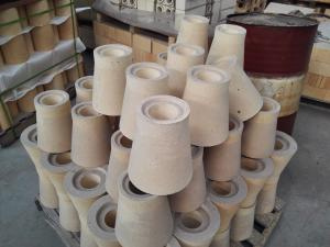 Quality High Strength Andalusite Runner Bricks For Steel Casting / Refractory Fire for sale