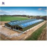 prefabricated steel material storage building warehouse structure