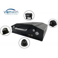 RS232 720P 4G 4 / 8 channel dvr with hard drive, onboard cameras inputs, Bus Router
