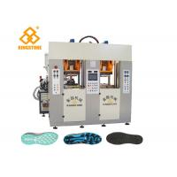 Two Stations TPU TR PVC TPR Sole Making Machines For Brand Shoes / 3.5*3.8*2.8m