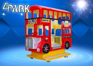 China Classical High Range Coin Operated London Bus Swing Rocking Kiddie Ride Game Machine on sale