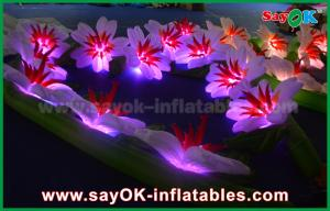 China Durable Inflatable LED Light Flower Chain for Wedding Party Stage Decoration on sale