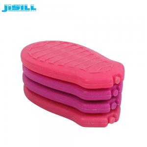 China Ice Cooler Box Cute Foot Pad Small Freezer Blocks For Frozen Food / Wine on sale
