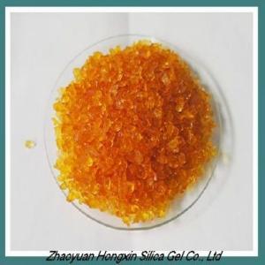 China Orange Silica Gel Indicator for desiccant 3-6MM on sale