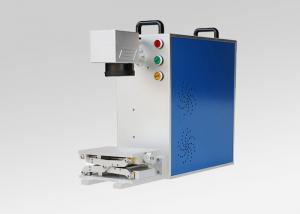 China 30W Handheld Fiber Laser Marking Machine Lightweight High Precision For Brass on sale