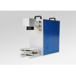 China 30W Handheld Fiber Laser Marking Machine Lightweight High Precision For Brass on sale