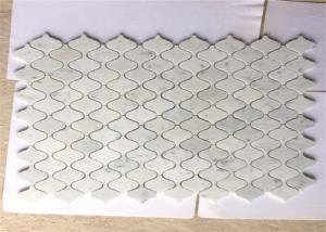 12 X24 Marble Stone Mosaic Tile Lantern Carrara White Polished Surface For Sale Stone Mosaic Tile Manufacturer From China 108588867