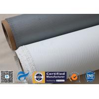Satin Weave Silicone Coated Fiberglass Fabric PU Coated Fiber Glass Cloth