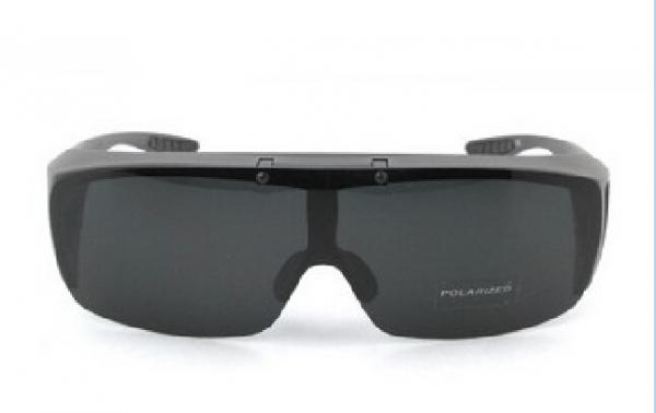 6bc57f6d18d92 Men Flip Up Fit Over Sunglasses TAC Polarized Lens With 100 UVA   UVB  Protection Images