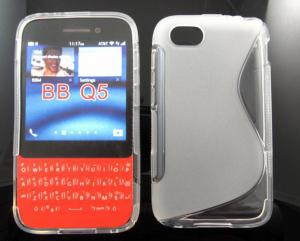China Blackberry Q5 S LINE silicon tpu gel case cover skin funda capa estuch Hulle Coque on sale
