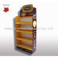 China 4 Tier Cardboard Display Stands For Pharmacy Cosmetic Product on sale