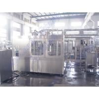China 16 Heads Bottled Water Filling Machine / Automatic Bottling Machine Low Noise Generation on sale