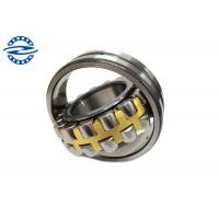 Chrome Steel 22207 Single Row Spherical Roller Bearing With Brass Cage