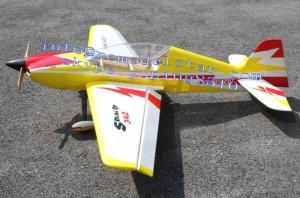 China Sbach342 Model 30cc RC Airplane Of Balsa Wood 6 Channels / 6 Servos on sale