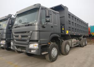 China 12 Wheeler Four Axles 50 Ton Dump Truck , Heavy Duty Tipper Trucks ZZ3317N3567A on sale